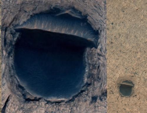 Colossal barrage martien