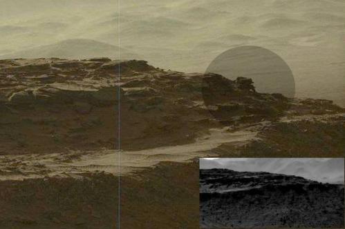 Sur mars curiosity devoile une nouvelle anomalie